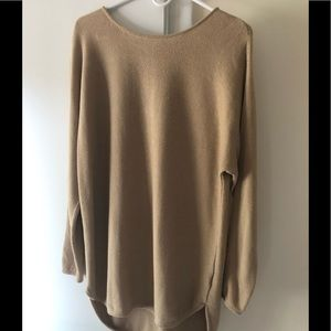 Michael Kors tan sweater.